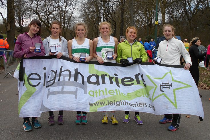 Leigh Harriers NA Women 6 Stage Champions 2014
