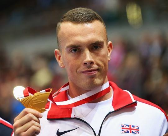 Richard Kilty World Indoor 60m Champion 2014
