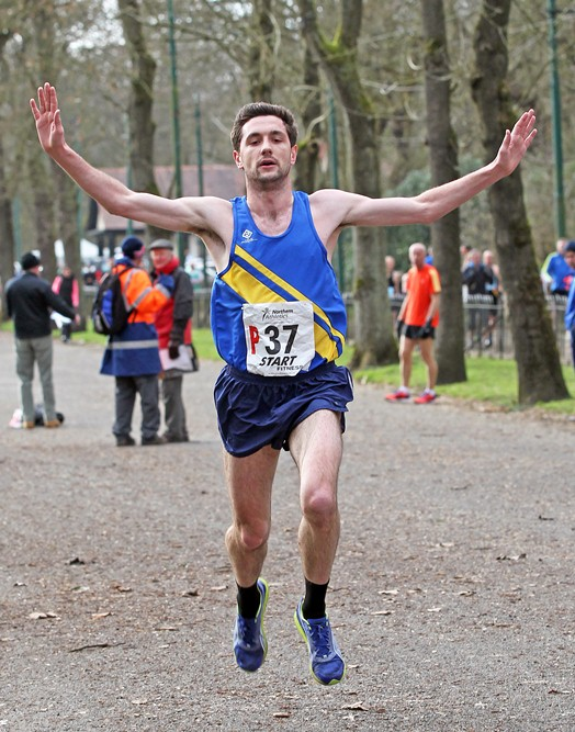 Stephen Lisgo brings Leeds home to victory in NA 12 Stage road Relay Championships 2014