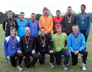 Morpeth winners of the silver medals at 2014 National 12 Stage Road Relay