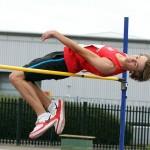 James Lee high jump champion