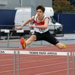 Jason Nicholson 400m hurdles champion