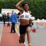 Naomi Ogbeta new championship best in triple jump