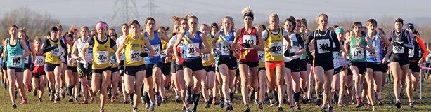 Start of senior women's race