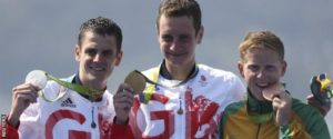 Gold & Silver for Alistair & Jonathon Brownlee at Rio